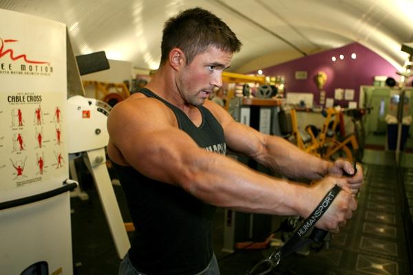 Fitness-instructor male escort london