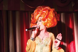 Candy Slag in Drag at The Old Ship!