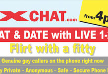 gay chat line gay phone chat