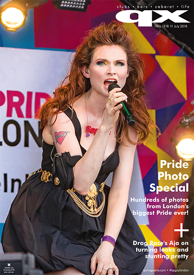 QX Magazine Issue 1218 cover